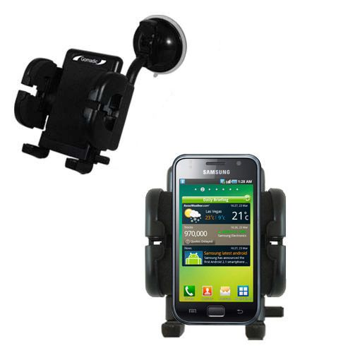 Windshield Holder compatible with the Samsung Galaxy S
