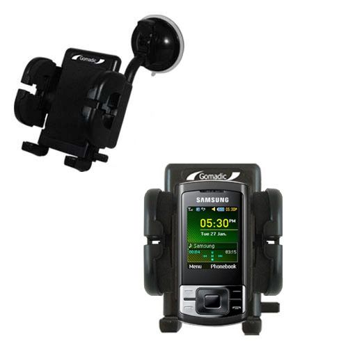 Windshield Holder compatible with the Samsung GT-C3050