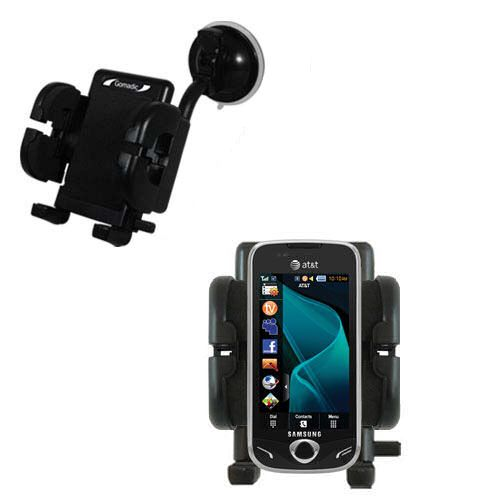 Windshield Holder compatible with the Samsung Mythic
