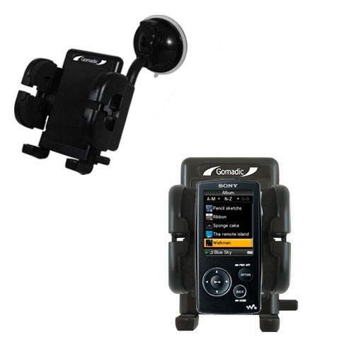 Windshield Holder compatible with the Sony Walkman NWZ-A805