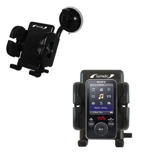 Windshield Holder compatible with the Sony Walkman NWZ-E438F