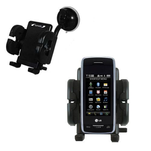 Windshield Holder compatible with the Verizon Voyager