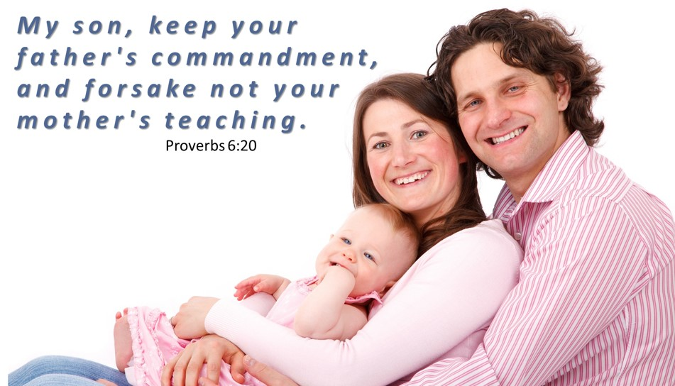 Bible Verse About Family Proverbs 6:20