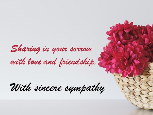 Condolences & Sympathy Messages - 250 Examples