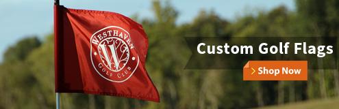 Custom Golf Flags Manufacturer