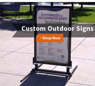 Custom Outdoor Signs Shop Now