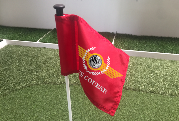 Personalized Putting Green Flags