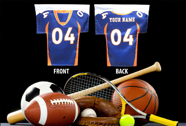 Custom Sports Jersey Flags