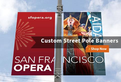 Custom Street Pole Banners Shop Now