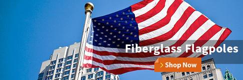 Fiberglass Flagpoles Shop Now