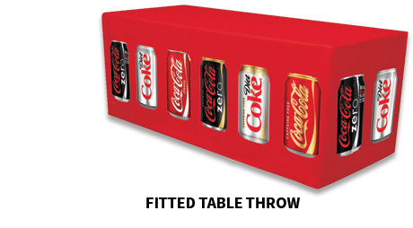 Fitted Table Throw