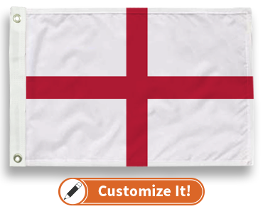 Cross Of St. George Flag