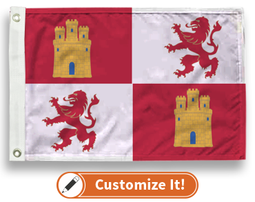 Royal Standard Of Spain Flag