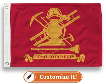 Firemen Flag Flag
