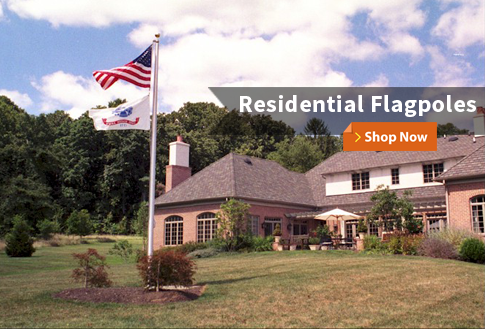 Residential Flagpoles Shop Now