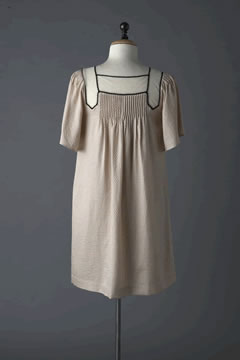 3.1 Phillip Lim Bell Sleeve Dress w/ Cotton Tull