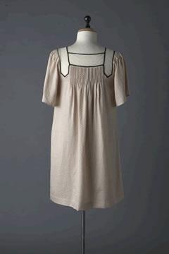 3.1 Phillip Lim Bell Sleeve Dress w/ Cotton Tull