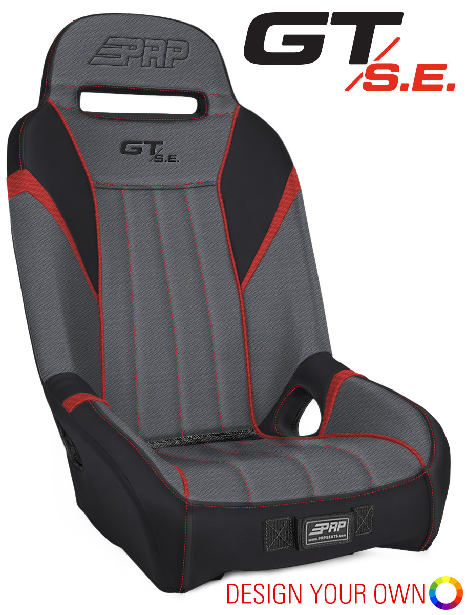 PRP Custom GT S E  Seats (Sold in Pairs) for Polaris RZR