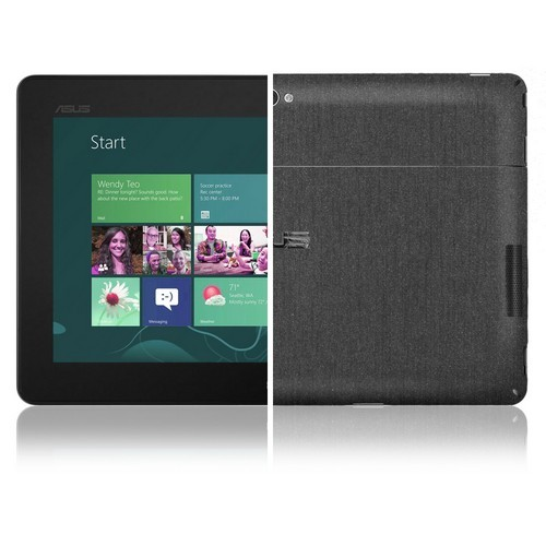 Skinomi Full Body Brushed Steel Tablet Skin+Screen Protector for Dell XPS 18