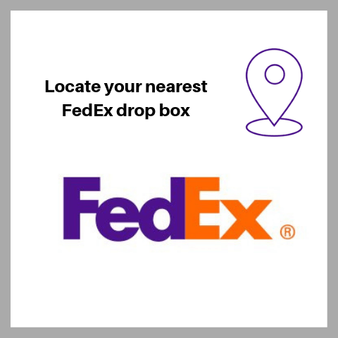 locate your nearest fedex drop box for elevator shoes