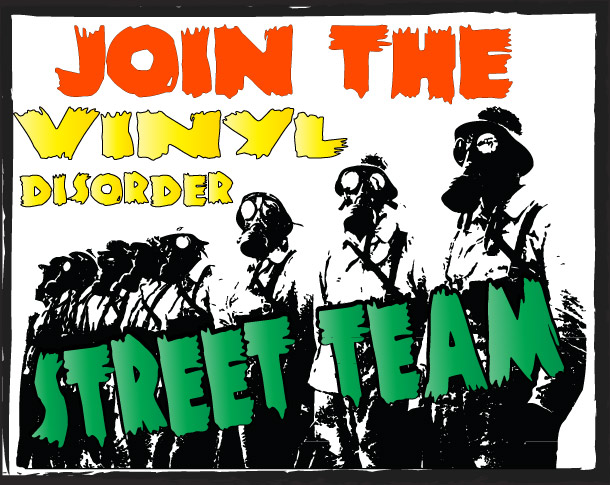 Join the Vinyldisorder Street  Team
