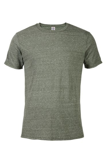 Value 14600 Adult 4.3 oz Snow Heather Fitted Tee
