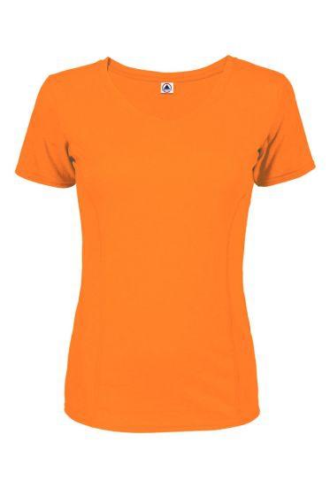 Value 56535S 30/1s Ladies Performance Short Sleeve Tee