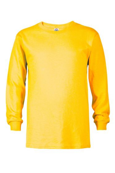 Value 61070 Youth 5.2 oz Regular Fit Long Sleeve Tee