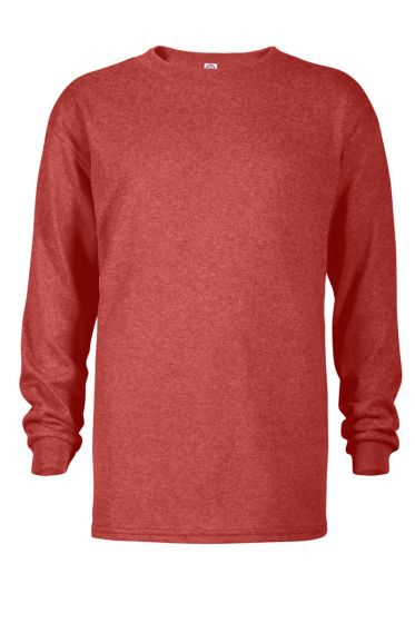 Value 64900L Youth 5.2 oz Retail Fit Long Sleeve Tee