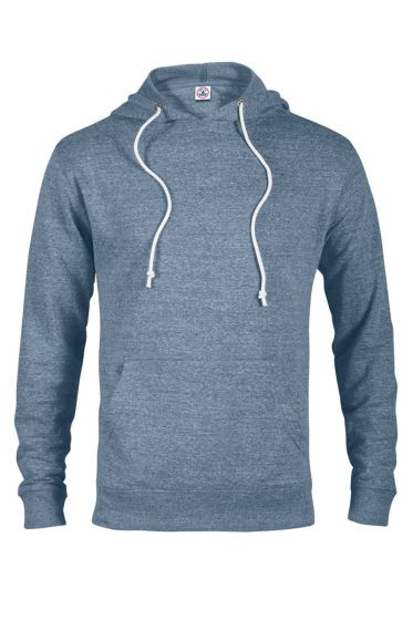 Value 94200 Adult Unisex Snow Heather French Terry Hoodie