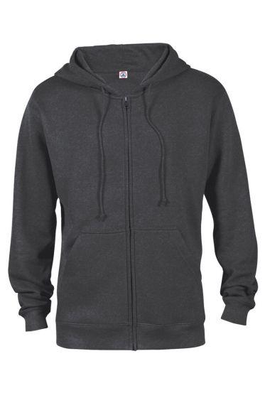 Value 99300 Adult Unisex Heavyweight Fleece Zip Hoodie