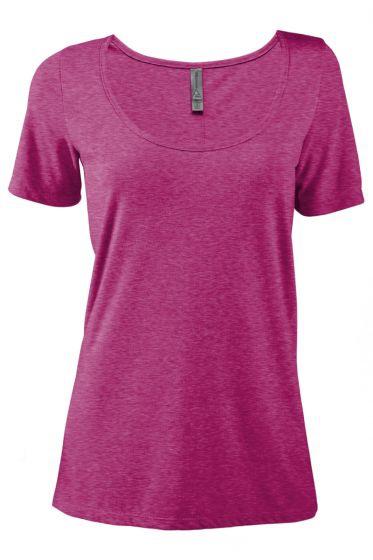 Value P504T Ladies Tri-Blend Short Sleeve Scoop Neck Tee