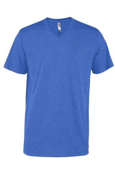 Value P602C Mens CVC Short Sleeve V-Neck Tee