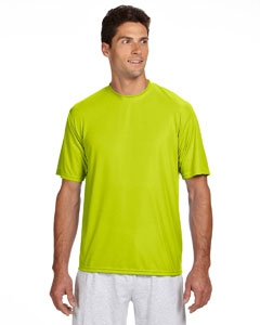 A4 N3142 Shorts Sleeve Cooling Performance Crew Shirt