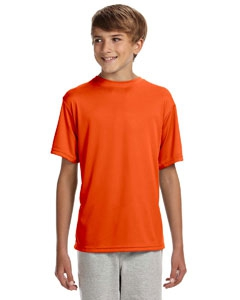 A4 NB3142 Youth Shorts Sleeve Cooling Performance Crew Shirt