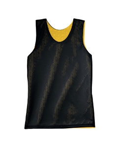A4 NF1270 Adult Reversible Mesh Tank Shirt