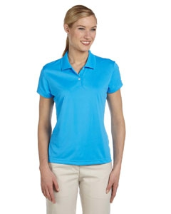 adidas Golf A122 Ladies' climalite® Short-Sleeve Piqué Polo
