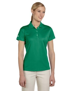 adidas Golf A131 Ladies' climalite® Basic Short-Sleeve Polo