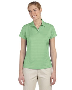 adidas Golf A162 Ladies' climalite® Textured Short-Sleeve Polo