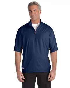 adidas Golf A167 Men's climalite® Colorblock Half-Zip Wind Shirt