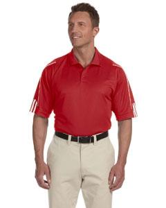 adidas Golf A76 Men's climalite® 3-Stripes Cuff Polo