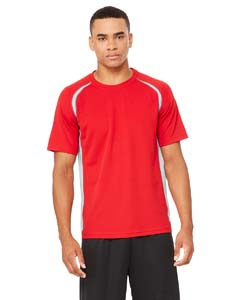 Alo Sport M1004 Men's Colorblocked Short-Sleeve T-Shirt