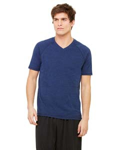 Alo Sport M1105 Men's Performance Triblend Short-Sleeve V-Neck T-Shirt
