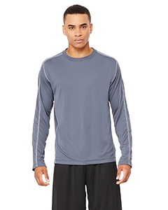 Alo Sport M3021 Men's Long-Sleeve Interlock Pieced T-Shirt
