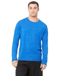 Alo Sport M3102 Men's Performance Triblend Long-Sleeve T-Shirt