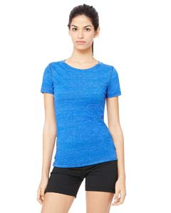 Alo Sport W1101 Ladies' Performance Triblend Short-Sleeve T-Shirt