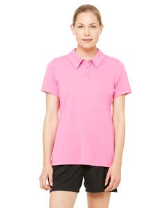 Alo Sport W1809 for Team 365 Ladies' Performance Three-Button Polo