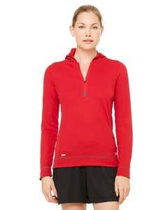 Alo Sport W3002 Ladies' Half-Zip Long-Sleeve Hoodie