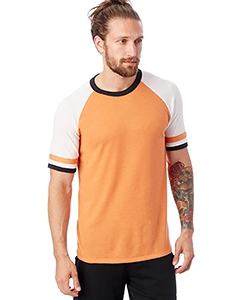 Alternative 5093BP Men's Slapshot Vintage JerseyT-Shirt