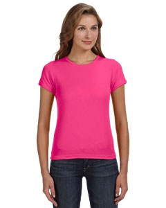 Anvil 1441 Ladies' 1x1 Baby Rib Scoop T-Shirt
